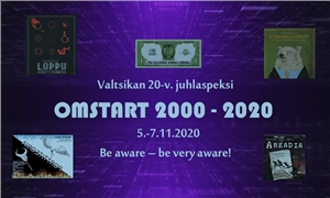 Link to event CANCELLED: OMSTART 2000–2020 PREMIERE – Valtsikan juhlaspeksi