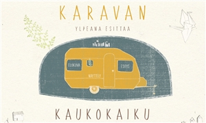 Link to event Teatteri QO:n Kaukokaiku – Puppet theatre and short films in a camping trailer